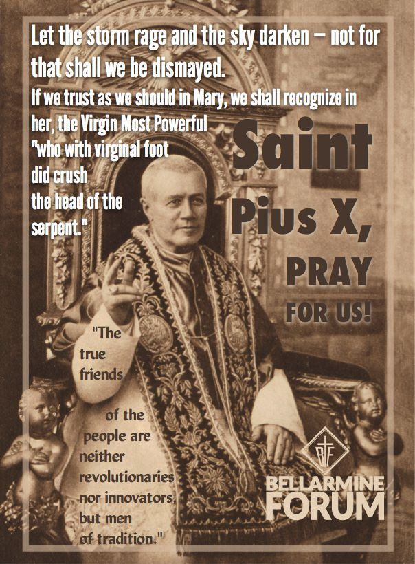7 Surprising Things about St. Pius X